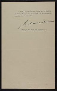 Het Koninkrijk der Nederlanden erkende de Republiek Estland de facto. Foto: Nationaal Archief Estland