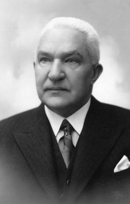 Op de foto: Friedrich Akel in 1936. Foto: Filmarchief van het Nationaal Archief Estland, fotograaf Parikas