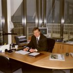 In 1997, the Estonian Embassy in the Netherlands is opened, the first temporary charge d'affaires is Tõnis Idarand Photo: Tõnis Idarand private archive