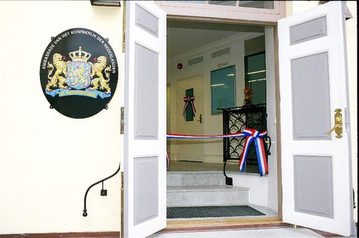 Madalmaade saatkonna avamine. Foto: välisministeerium