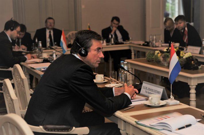 Verhagen Balti ja Benelux´i välisministrite kohtumisel Sagadis Foto: EV välisministeerium, Erik Peinar