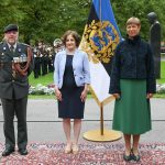 Since 2020 Özlem Canel  Photo: Canel presenting her credentials to President Kersti Kaljulaid. From the left: Defense Attaché Johannes den Hollander, Ambassador Özlem Canel, President Kersti Kaljulaid. Source: Embassy of the Netherlands to Estonia
