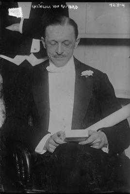 Madalmaade saadik van Rappard, foto on tehtud 1917. a Washingtonis, kus ta oli saadikuks. Allikas Kongressi Raamatukogu https://www.loc.gov/resource/ggbain.24905/