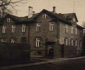 Süda tänava konsulaat enne Teist maailmasõda. Foto: perekond Lukk perearhiiv