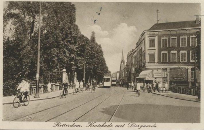 Vana Hollandi vaatega postkaart. Foto: Rahvusarhiiv