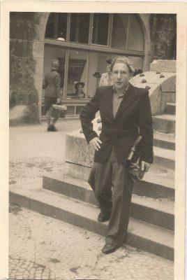 """Paul Merits (""""Kallis Paul"""") Saksamaal 1950-datel. Foto: Helga Meritsa eraarhiiv"""